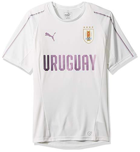 PUMA Herren Uruguay Training Jersey Hemd, F White, X-Groß (Uruguay Jersey)
