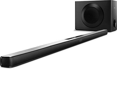 Philips HTL7140B/12 5.1 Soundbar mit Ambisound (4K2K, Bluetooth/NFC, HDMI ARC, USB) schwarz