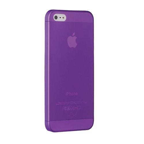 Ozaki OC533PU O!Coat 0.3 Jelly Ultra Thin Schutzhülle für Apple iPhone 5/5S/SE lila (Case Iphone Jelly Lila 5)