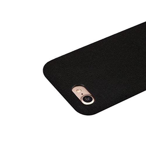 GR Ultra Fiber + PC schützender rückseitiger Abdeckungs-Fall für iPhone 7 ( Color : Red ) Black