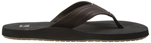 QuiksilverQuiksilver Herren Monkey Wrench Sandals - Scarpe da Spiaggia e Piscina Uomo Nero (Brown/Black/Brown XCKC)