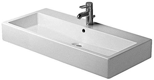 Duravit Vero Waschbecken (Duravit Waschbecken Vero-Vero 100cm Arbeitsplatte Design Weiß)