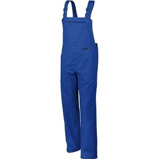 Latzhose QUALITEX 270, 5 Farben, einlauffeste Baumwolle, Größe 44-64, 90-110 58,Kornblau