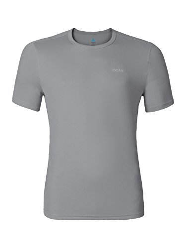 Odlo Herren S/S Crew Neck Cardada T-Shirt odlo concrete grey