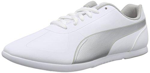 Puma Modern Soleil SL, Damen Sneakers, Weiß (White Silver 01), 39 EU (6 Damen UK) (Puma Damen Sport Schuhe)