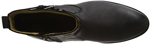 Sebago Nashoba Low, Stivaletti Donna Nero (Black Leather Wp)