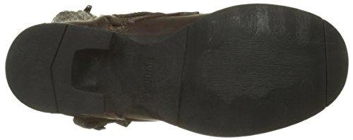 Bunker Herren Sozo Combat Boots Marron (moro)