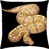 Preisvergleich Produktbild orange-ghost-fire-ball-python–Überwurf Kissenbezug Fall (18