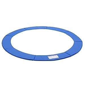 SONGMICSCoussindeProtection pourTrampolineø 244cm PVC Bleu Largeur 30 cm Épaisseur 2 cm Anti-UVSTP8FT