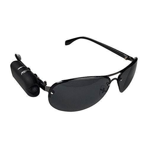 HM2 Mini 1080P HD Sonnenbrillen Kamera, Mini Outdoor Action Sport Brille Bike Brille Micro Kamera, für Journalisten - Schwarz,32GB