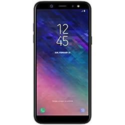 Samsung Galaxy A6 (2018) Smartphone, 32 GB Espandibili, Dual Sim, Nero (Black) [Versione Italiana]