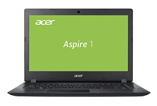 Laptop Acer 14 E (Acer Aspire 1 A114-31-P9Y1 35,5 cm (14 Zoll HD matt) Multimedia Notebook (Intel Pentium N4200, 4GB RAM, 64GB eMMC, Intel HD, HDMI, Win 10) schwarz)