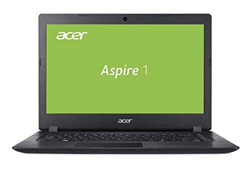 Laptop 14 E Acer (Acer Aspire 1 A114-31-P9Y1 35,5 cm (14 Zoll HD matt) Multimedia Notebook (Intel Pentium N4200, 4GB RAM, 64GB eMMC, Intel HD, HDMI, Win 10) schwarz)