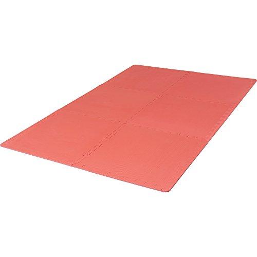 #Schutzmattenset 6 Matten + 12 Endstücke in verschiedenen Farben Farbe Rot#