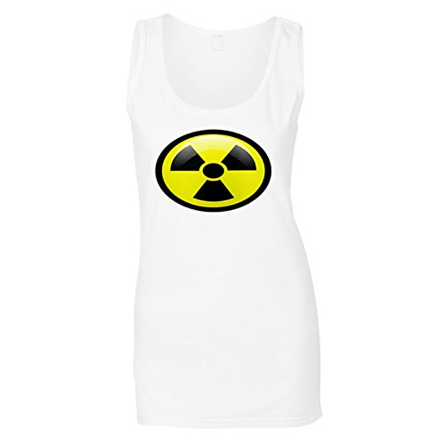 Ladies Radiation Symbol Ladies Tank Top - XS to XXL