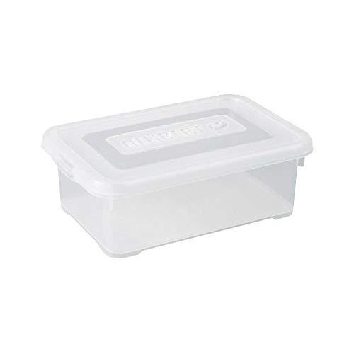 Allibert Aufbewahrungsbox Praktische mit klick Deckel 4L in transparent