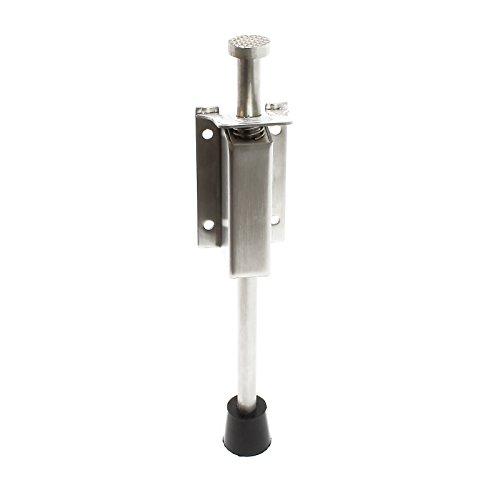 Pedal Türstopper 33-59mm Edelstahl Türfeststeller Bodentürstopper Türbremse