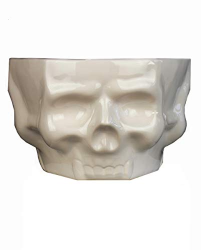 othic Keramik Schüssel mit Totenköpfen als Wohndeko ()