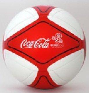 Madrid Glider (Fussball Adidas EM 2012. Sonder-Edition. weiß-rot. Glider. Gr. 5)