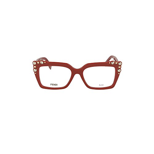 Fendi Damen FF 0262 C9A 51 Sonnenbrille, Rot (Red)