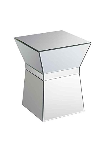 MY-Furniture Mirrored Cube Side Coffee table - Michelle
