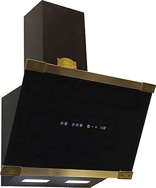 Kaiser Flachschirmhaube 60cm//Edelstahl Dunstabzugshaube 60 cm//Einbauhaube//910m/³//h AIR POWER Motor//Abzugshaube//Dunsthaube//Ablufthaube//Umlufthaube//Inklusive Aktivkohlefilter
