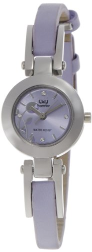 Q & Q Analog Purple Dial Women's Watch - S031-342Y image
