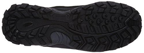 Lico Milan, Chaussures de Randonnée Hautes Homme Noir (Schwarz/Grau/Rot)
