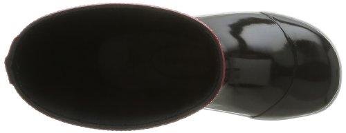 Havaianas Aqua Kids Rain Boots, Bottes de pluie mixte enfant Noir (Black/Red 2000)