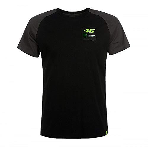 Valentino Rossi Dual Monster, Herren T-Shirt, Schwarz, L