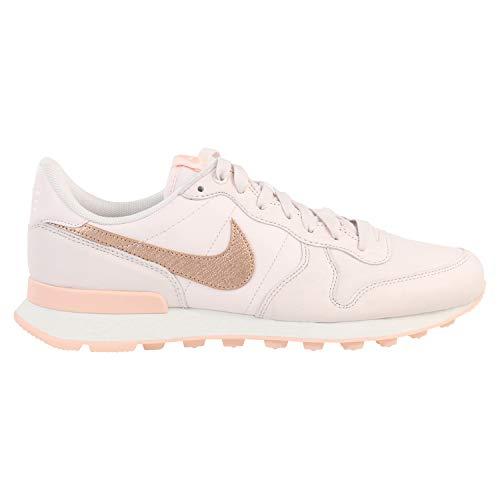 Nike W Internationalist PRM, Chaussures d'Athlétisme Femme, Multicolore (Light Soft Pink/MTLC Red...