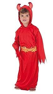 Creaciones Llopis Disfraz Infantil Diablo Rojo T-M (7 A 9 AÑOS), Multicolor (80043