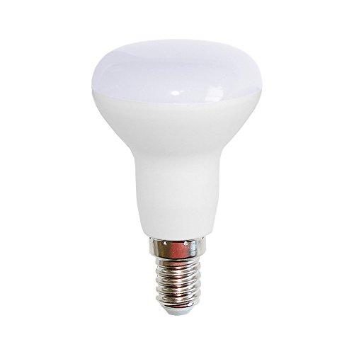 LED Leuchtmittel Reflektor R50 5 Watt = 40 Watt E14 matt warmweiß 2700K flood 120° (R50 5W = 40W, 1 Stück) - 40w Flood