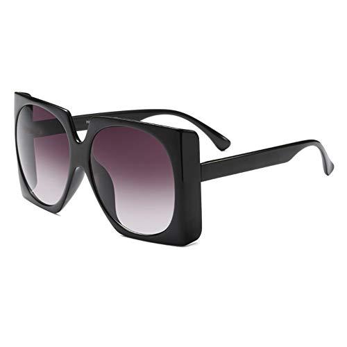 SYQA Übergroße Retro quadratische Sonnenbrille Männer Frauen Brillen Mode männlich weiblich,C2