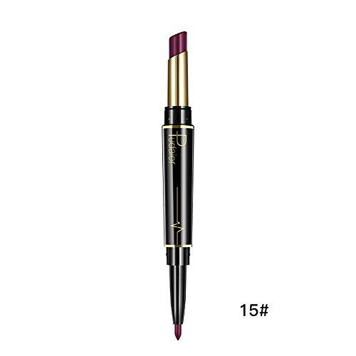 Zilosconcy Frauen Lippenstift Dauerhafter Lipliner Lip-Liner-Stift mit Bleistift in 6 FarbenLange...
