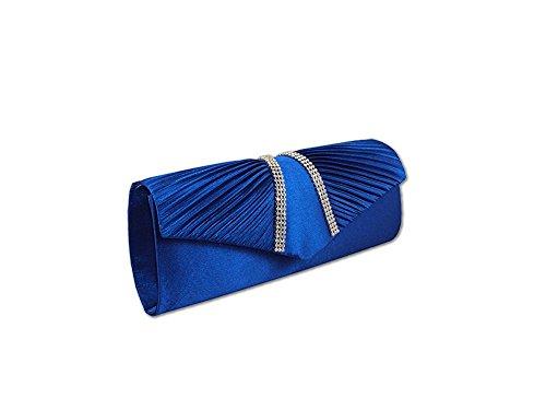 XPGG ottima idea regalo, da donna, per abiti da sera Party Bag-Borsa a spalla Nero (blu)