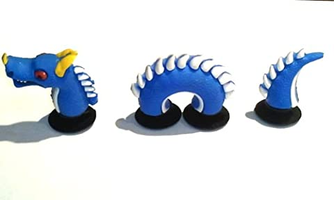 AVIRGO 3 pcs Shoe Charms Buttons Set # 3-1