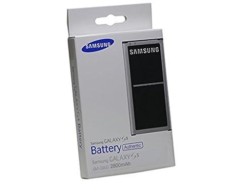 Samsung Akku Batterie Akkublock (Li-Ion, 2.800 mAh) EB-BG900 für Galaxy S5