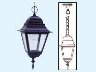 Lampione con catena a lanterna vienna di colore...
