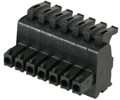 CONN'R PCB PLG 3.81MM, 8P ASP0440802 By RIA CONNECT Conn Block