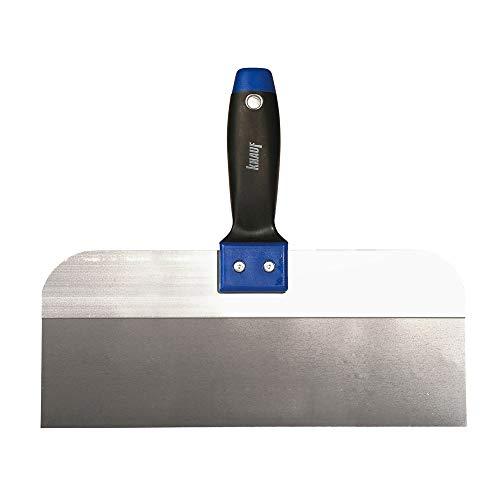 Knauf Breit-Spachtel zum Verspachteln von Fugen, 300-mm - Fugen-Spachtel breit aus Edelstahl für großflächige Spachtelarbeiten an Gipsplatten-Fugen, für HRK und HRAK Kanten, rostfrei