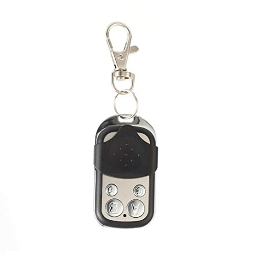 433MHz Wireless Universal Copy Remote Control Metal Push Cover 4 Key Garage Door Duplicator Car Key Fob Auto Alarm System Garage Door Remote