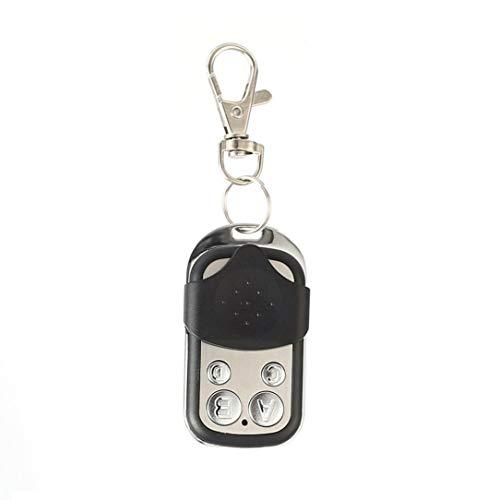 433MHz Wireless Universal Copy Remote Control Metal Push Cover 4 Key Garage Door Duplicator Car Key Fob Auto Alarm System (Universal Remote Alarm Auto)