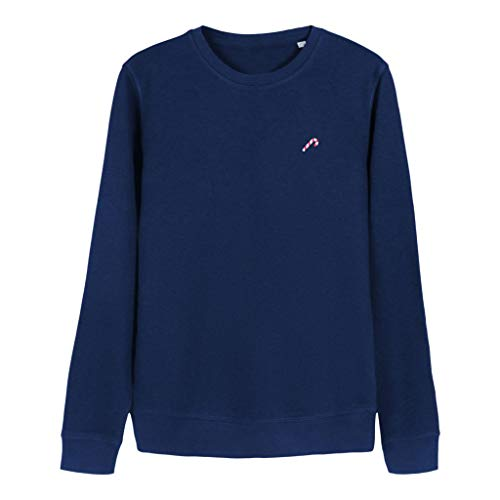 STRØM Sweater Christmas Candy (M, Blau)