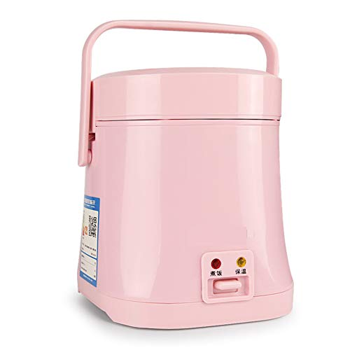 er,1-2 Personen Kochen Reis nach Hause authentische kleine reiskocher elektrische heizung Herd elektrische Druck reiskocher-Rosa ()