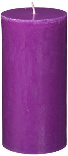 Zest Kerze Stumpenkerze, 3von 6, violett (Violett 091)