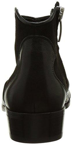 IKKS Basse Bj80075, Bottines Classiques Femme Noir (Noir)