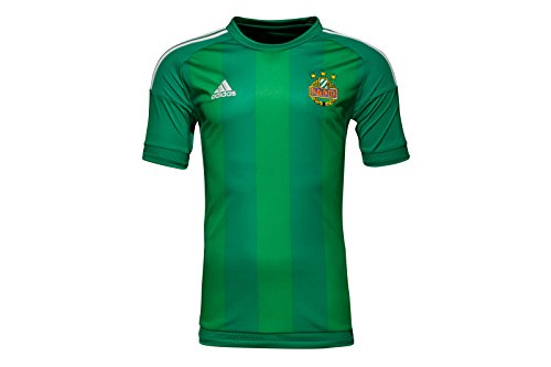 Adidas-authentic Home Trikot (SK Rapid Wien 16/17 Authentic Home S/S Football Shirt - Bold Green/Green/White - size L)