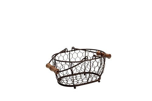 T & G Woodware-Provence Cesta Ovalada wireware