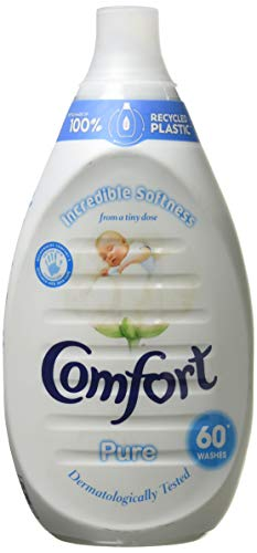 Comfort Ultra Concentrated Pure Fabric Conditioner 60 Wash 900 ml